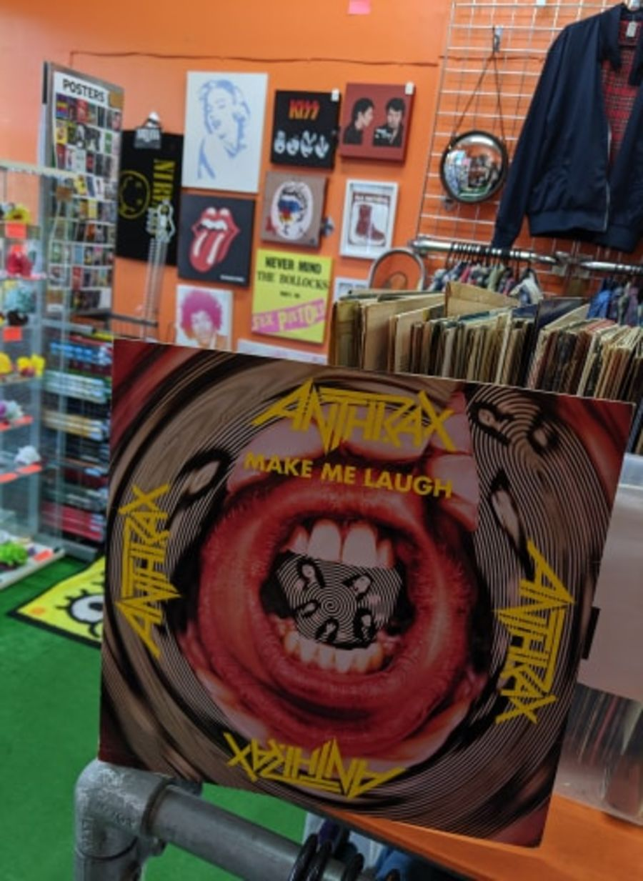 Anthrax, Make Me Laugh Vinyl