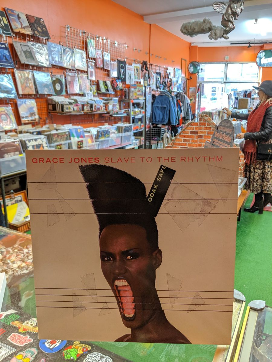 Grace Jones, Slave To The Rhythm Vinyl