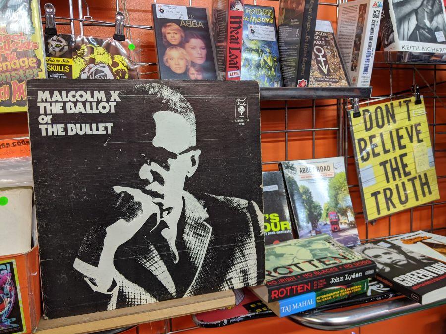 Malcolm X, The Ballot or The Bullet Vinyl