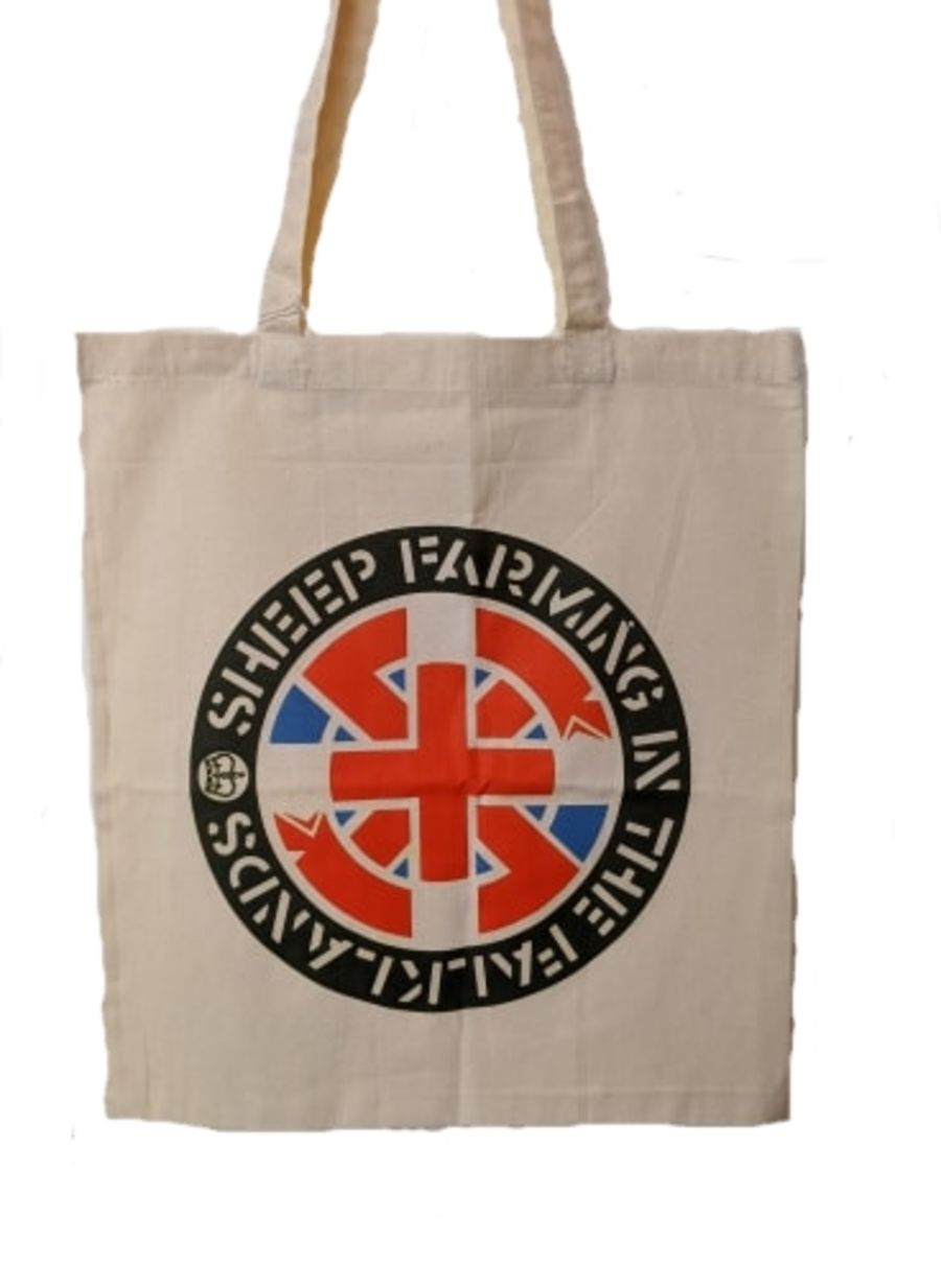Crass, Sheep Farming The Falklands Tote Bag