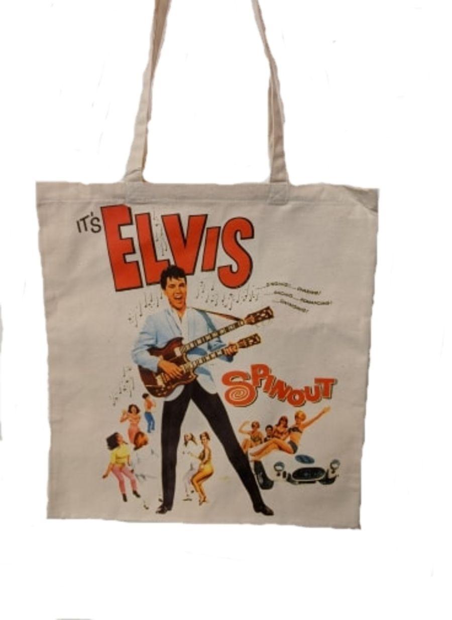 Elvis, Spinout Tote Bag