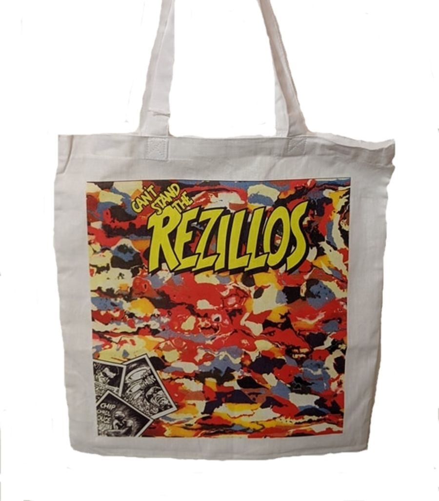 The Rezillos Tote Bag
