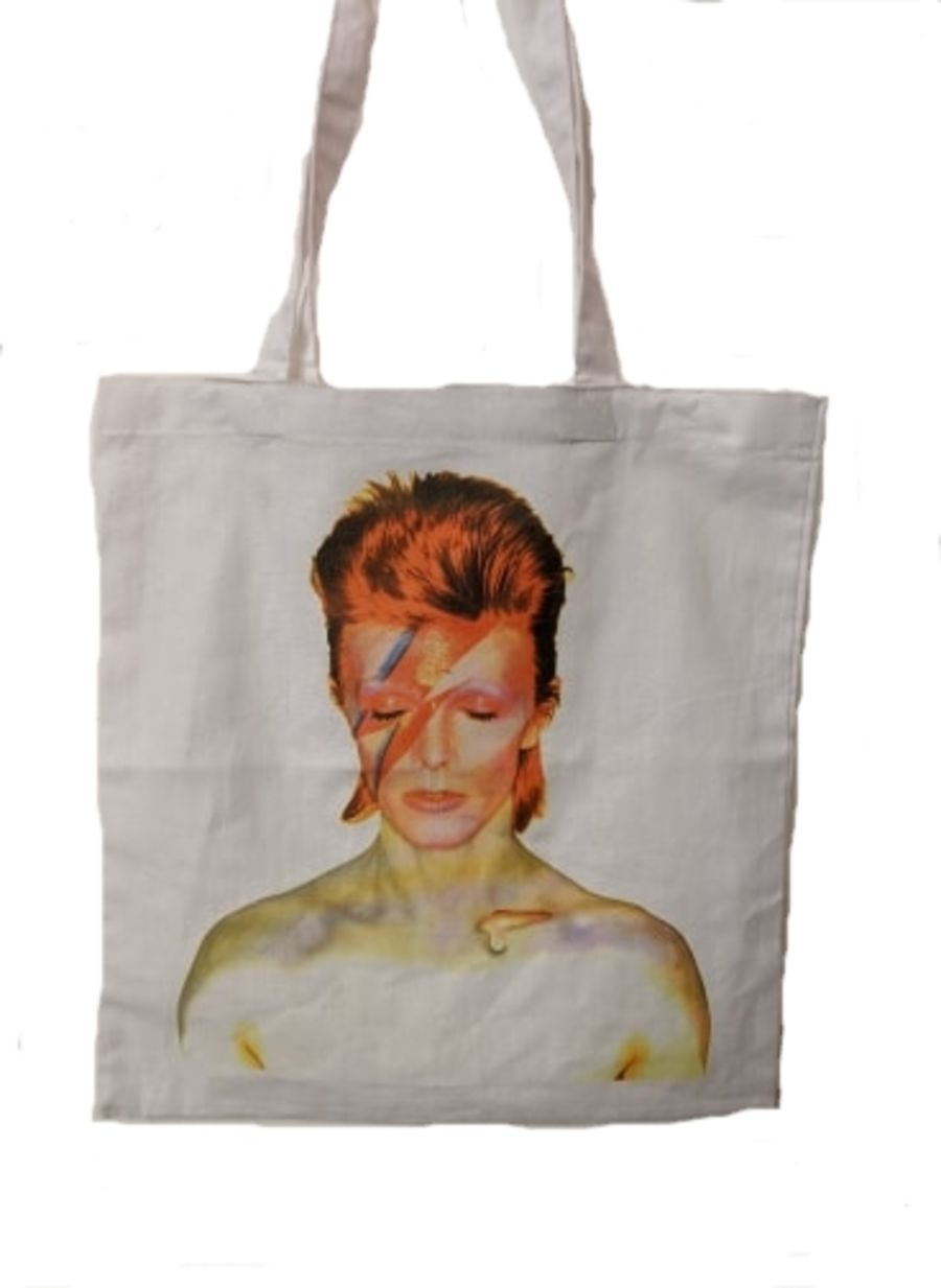 David Bowie Ziggy Stardust Tote Bag
