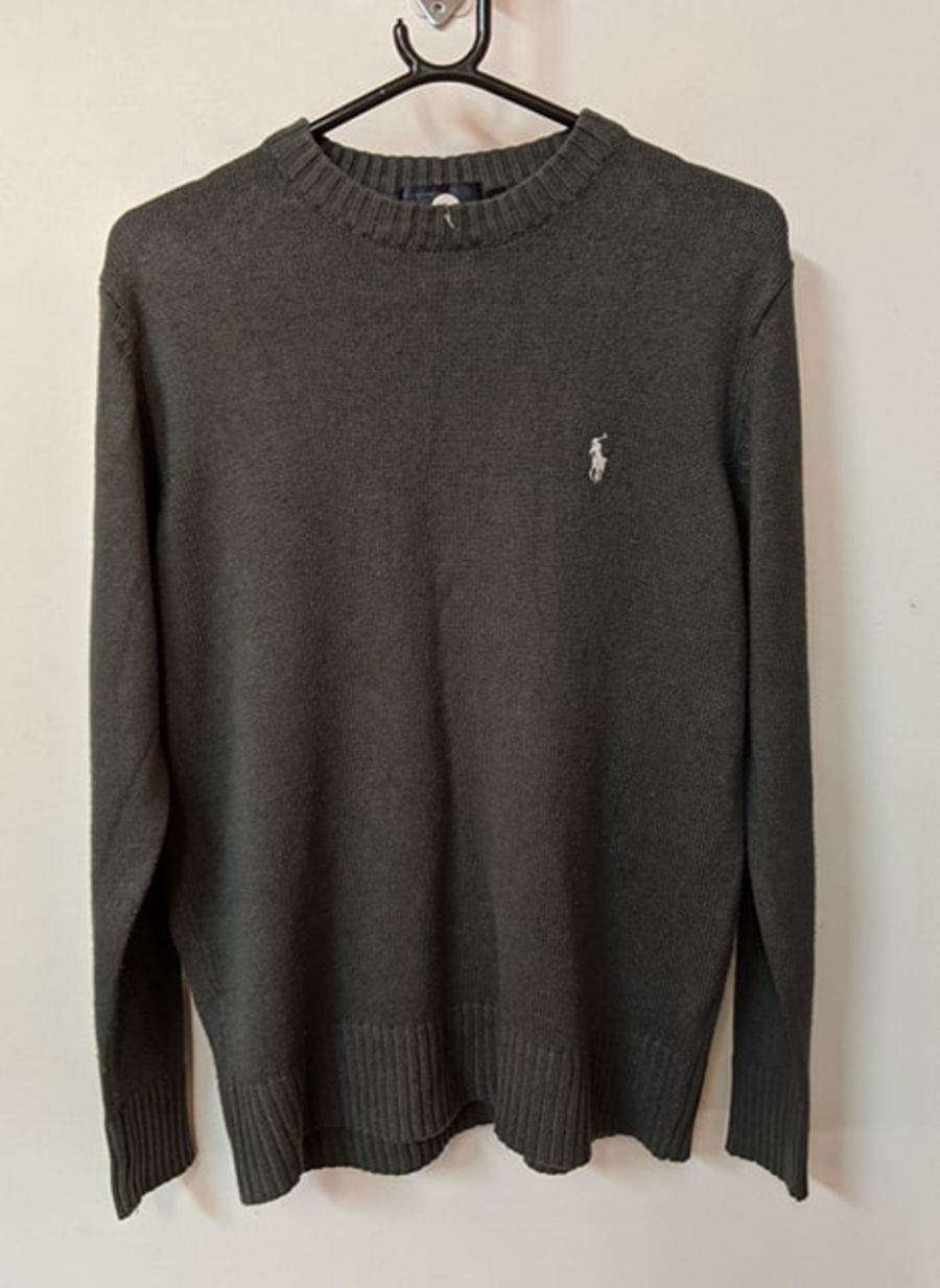 Vintage Ralph Lauren Polo Grey Jumper