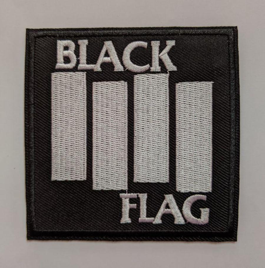 Black Flag Punk Iron on Patch