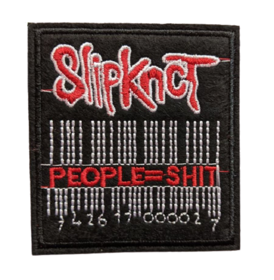 Slipknot Iconic Barcode Logo Iron On Patch