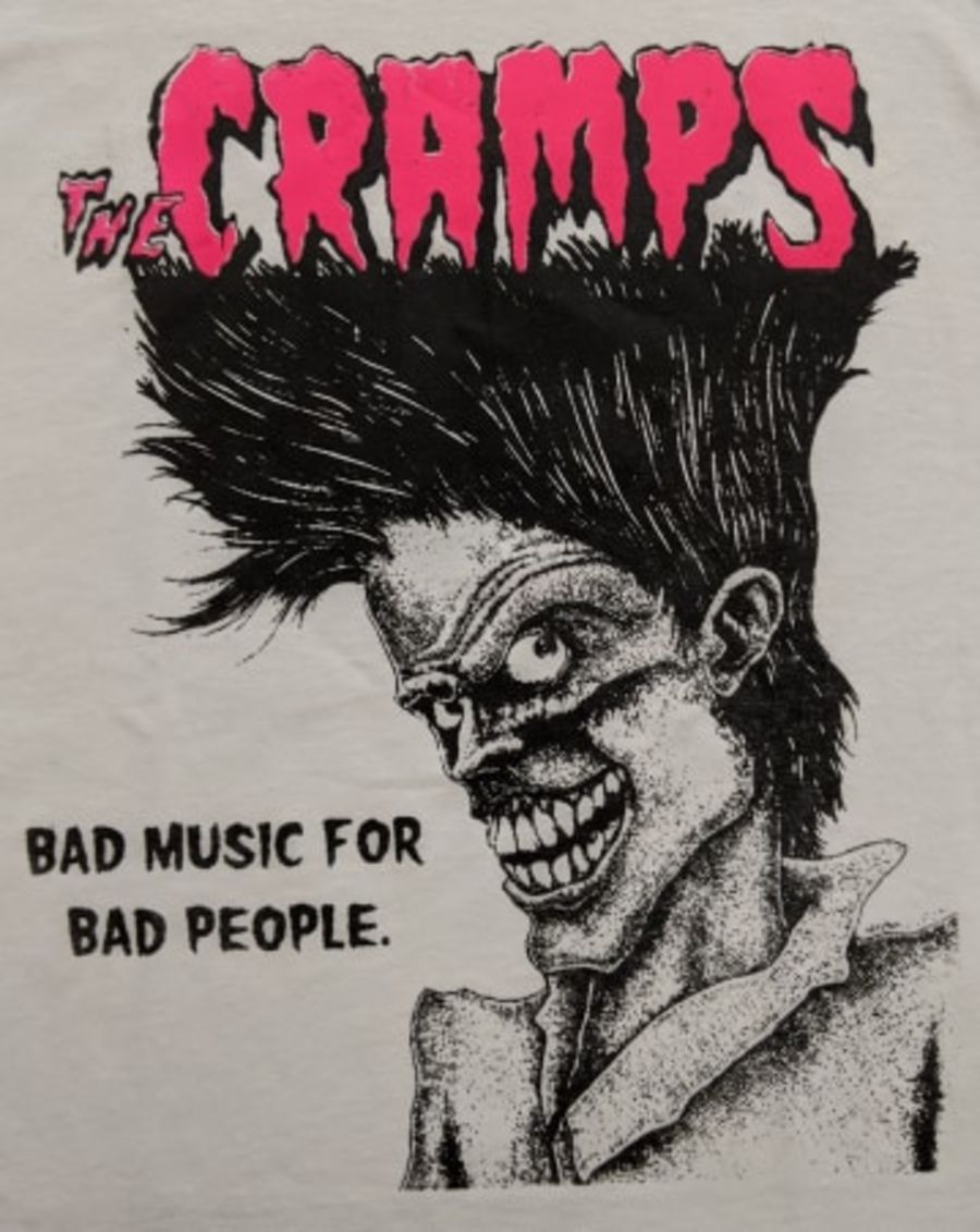 Vintage The Cramps White T-Shirt