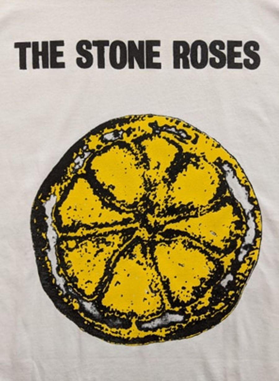 Vintage The Stone Roses White T-Shirt