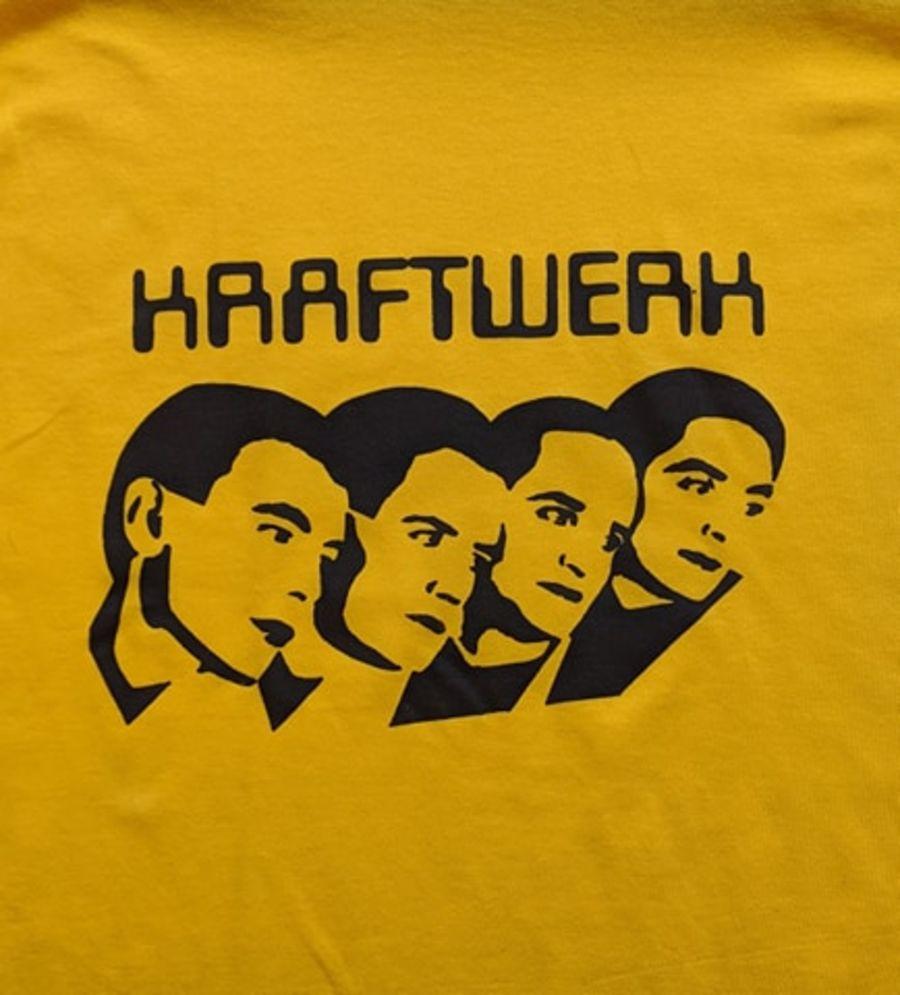 Vintage Kraftwerk Yellow T-Shirt