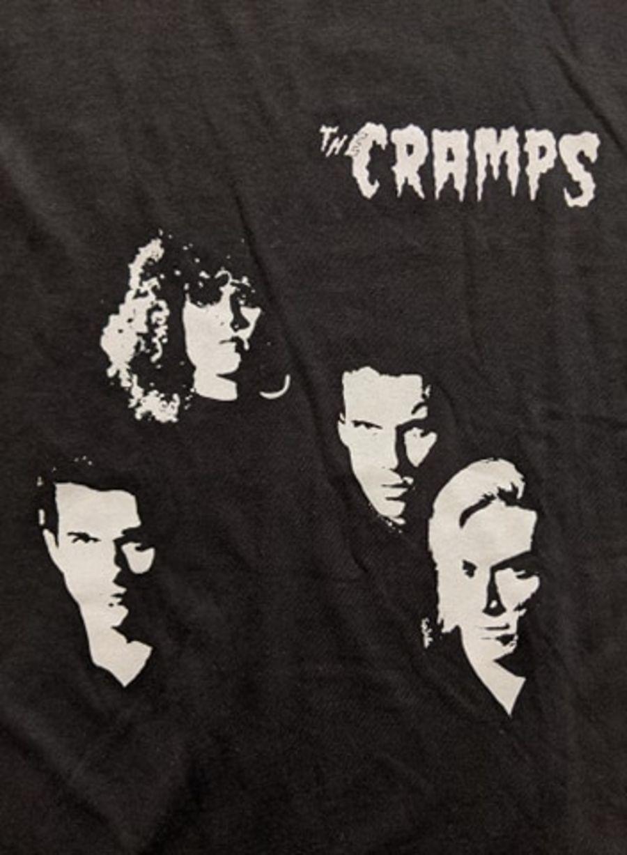 Vintage The Cramps Black T-Shirt