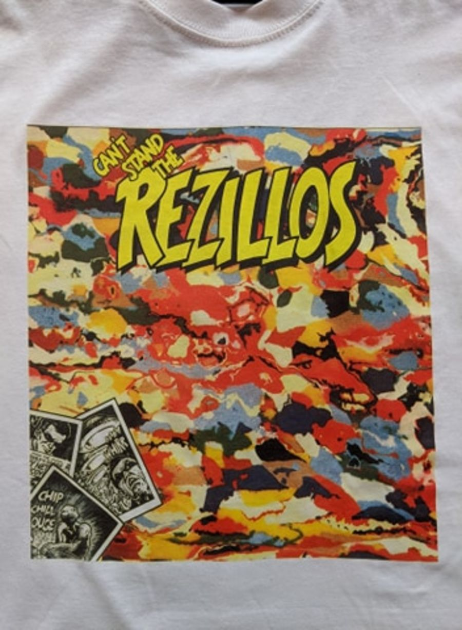 Vintage The Rezillos White T-Shirt