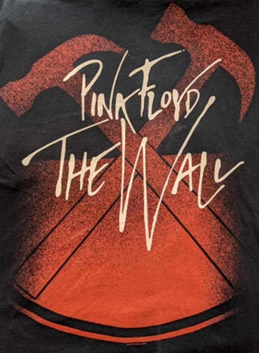 Vintage Pink Floyd The Wall Black T-Shirt