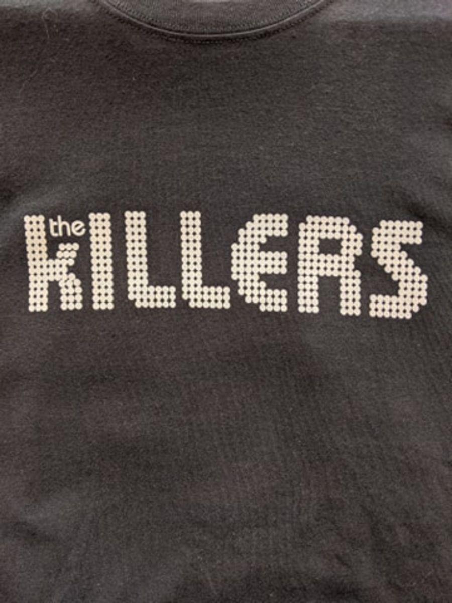 Vintage The Killers Black T-Shirt