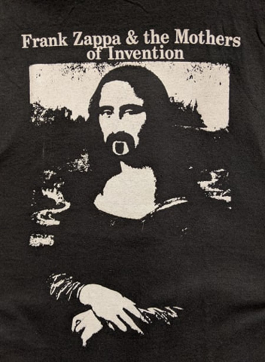 Vintage Frank Zappa & The Mothers Of Invention Black T-Shirt