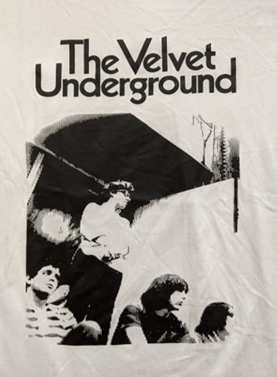 Vintage The Velvet Underground White T-Shirt