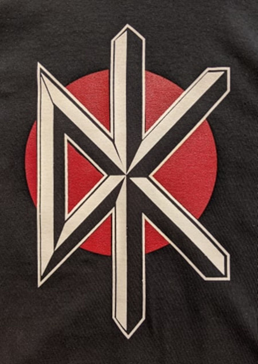 Vintage Dead Kennedys Black DK Logo Cotton T-Shirt