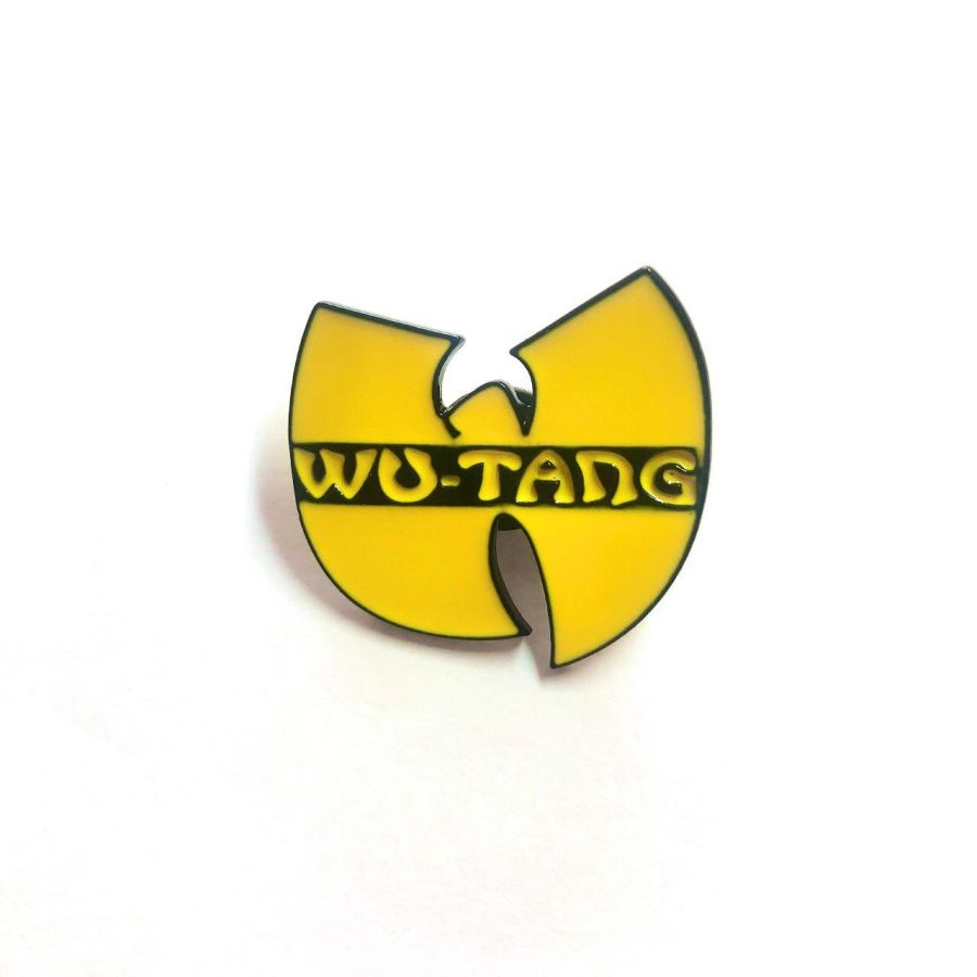 Vintage Metal Wu-Tang Clan Pin Badge