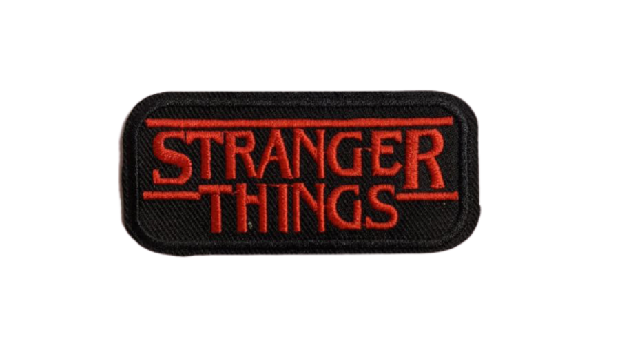 Stranger Things Logo Sew On Iron On Patch