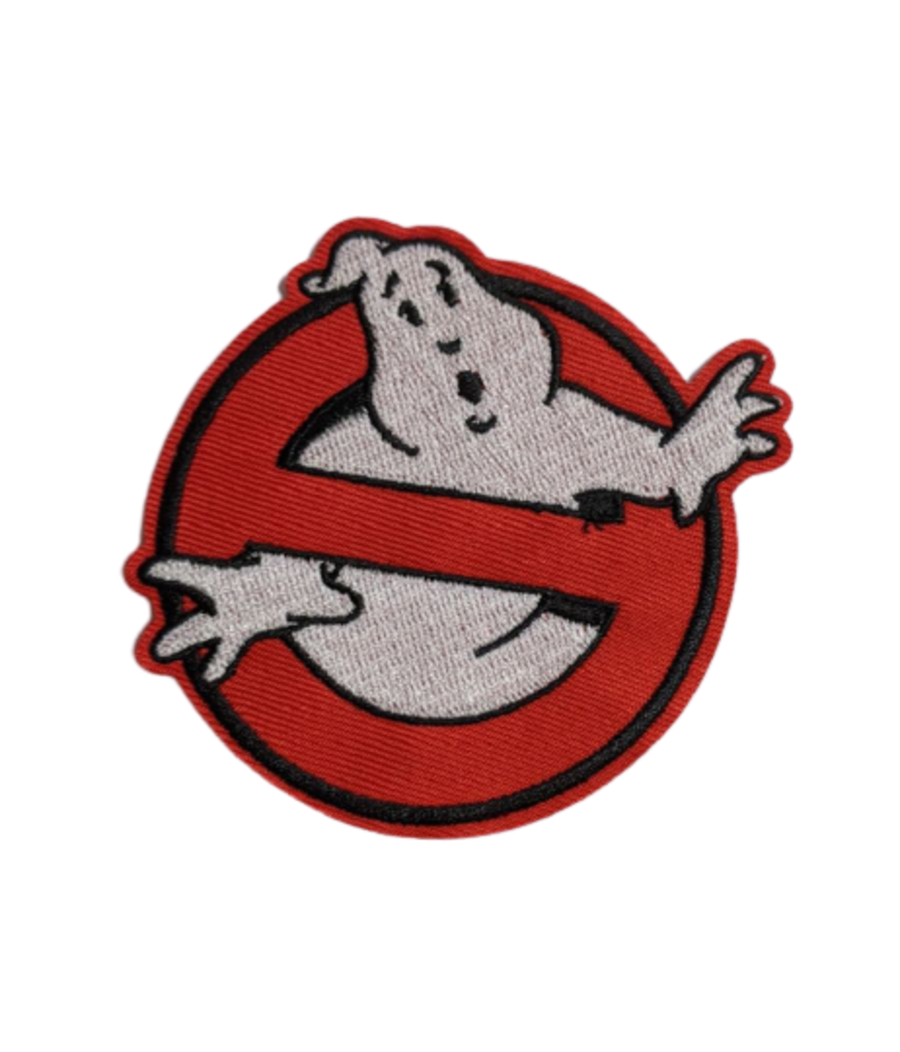 Ghostbusters Logo Sew On Iron On Patch