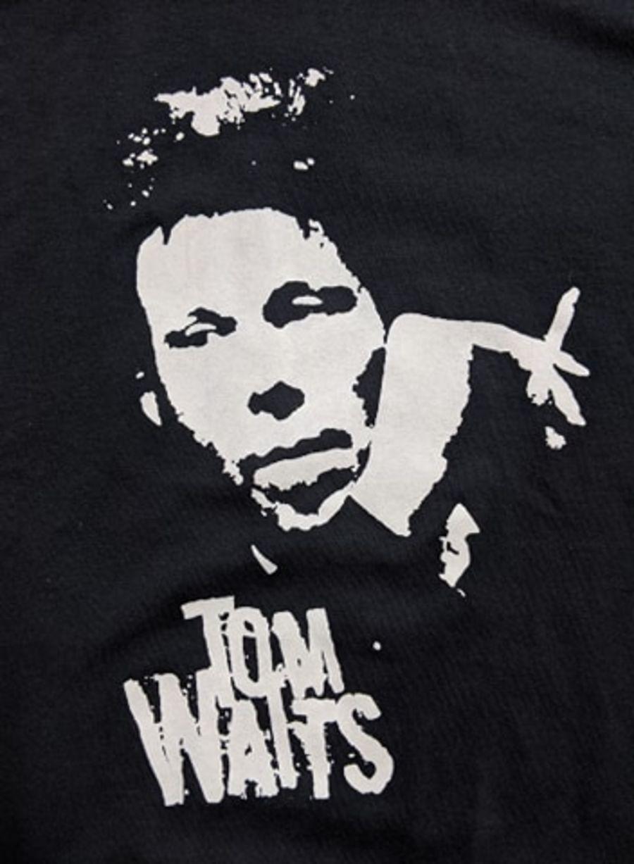 Vintage Tom Waits Black Band T-Shirt
