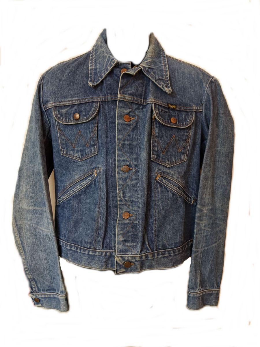 Vintage 90's Blue Wrangler Denim Jacket