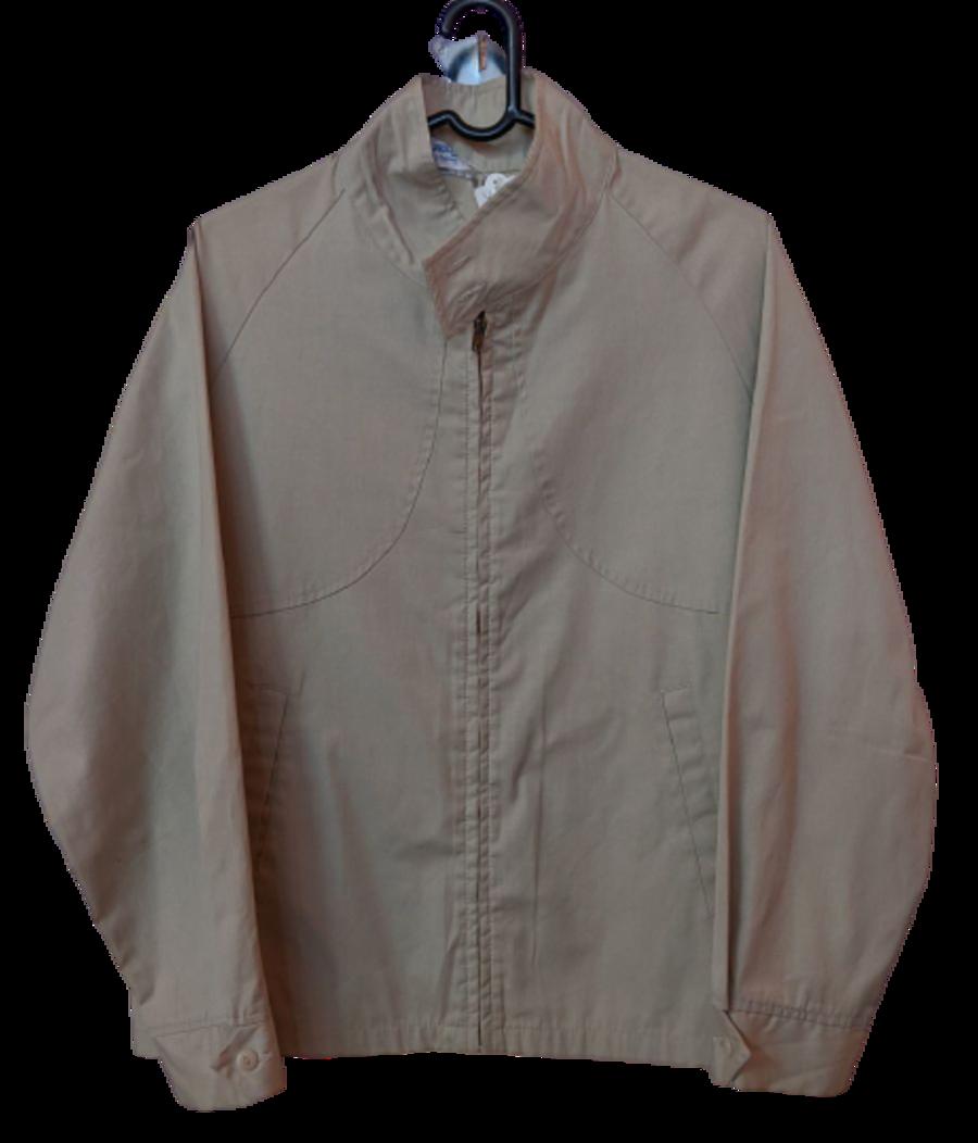 Vintage 1990's Cream Encro Mfg Co. Harrington Jacket