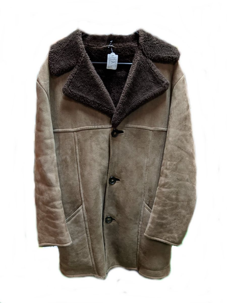 Vintage Morlands Dark Brown Sheepskin Jacket
