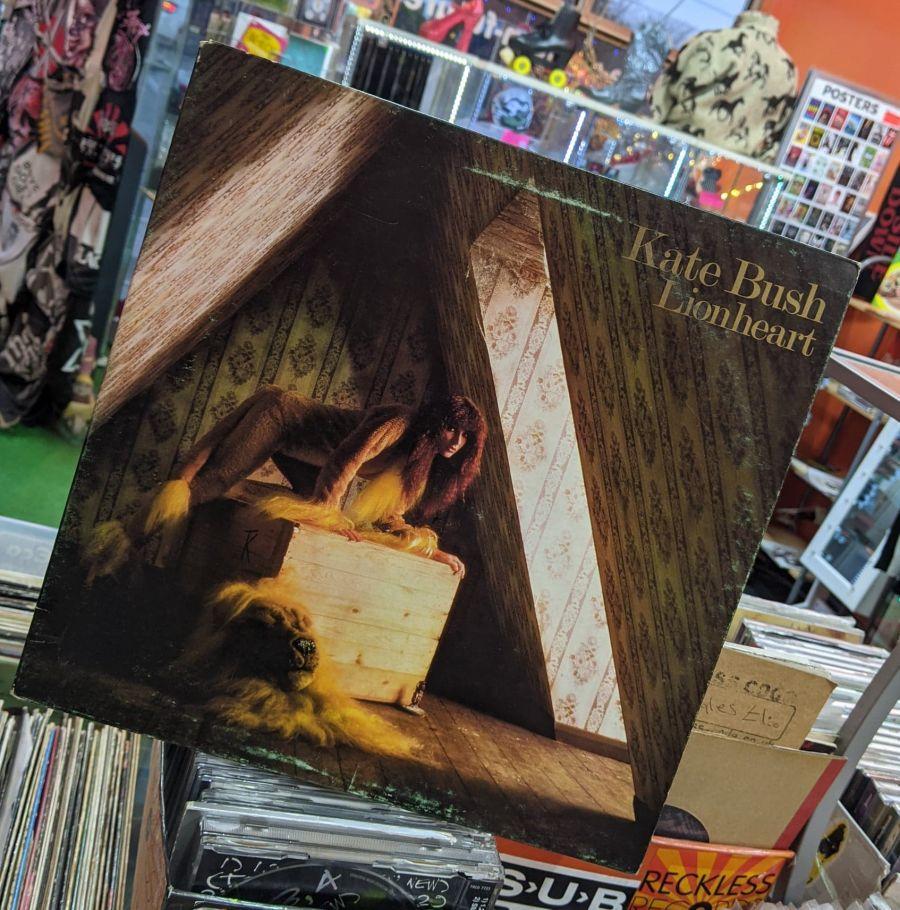 Vintage Kate Bush Lionheart Vinyl