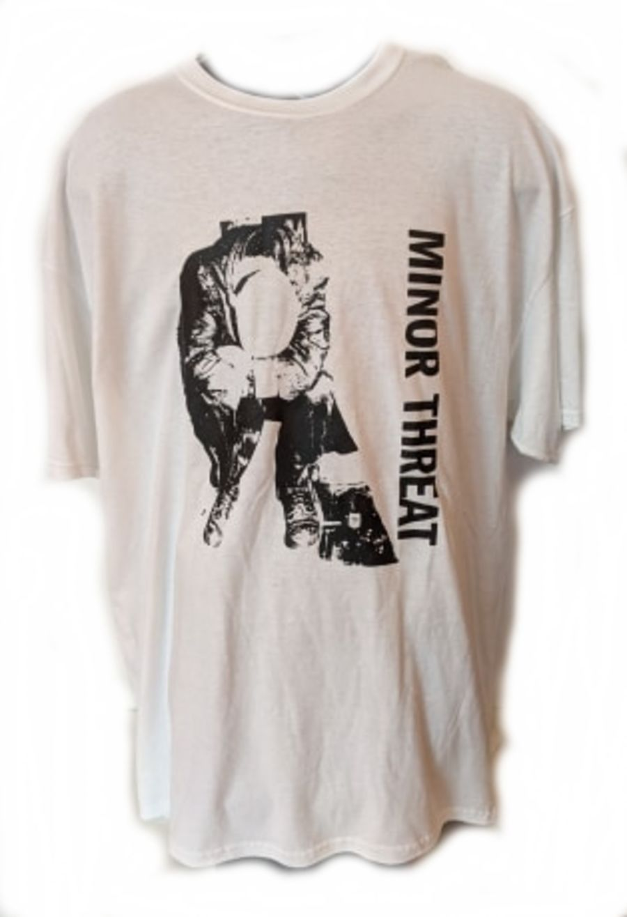 Vintage Minor Threat T-Shirt in really good condition with classic logo