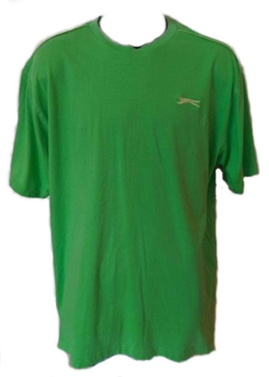 Vintage 90s Green Slazenger Sports T-Shirt