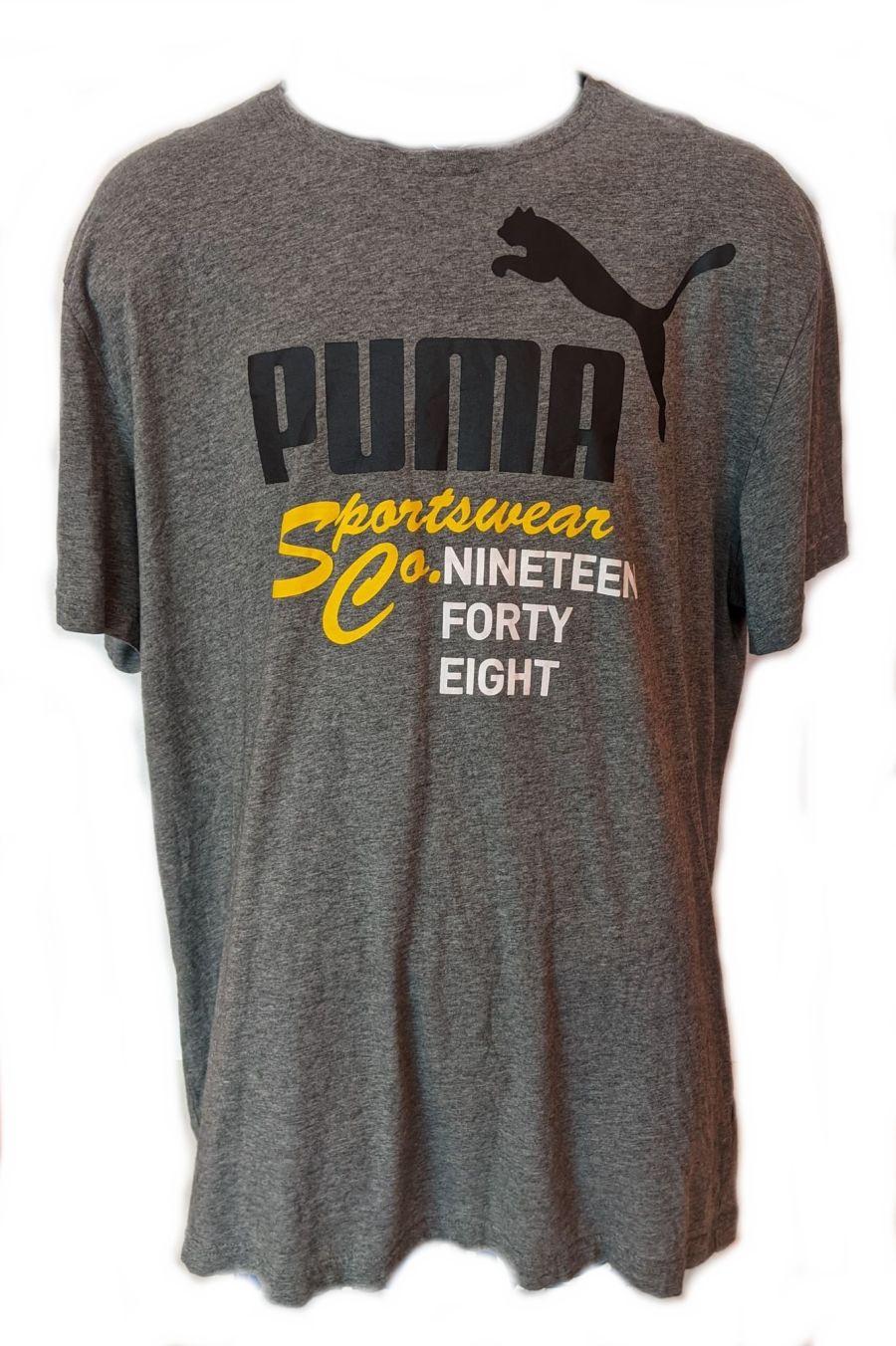 Vintage Y2K Grey Classic Puma Sportswear Co. T-Shirt