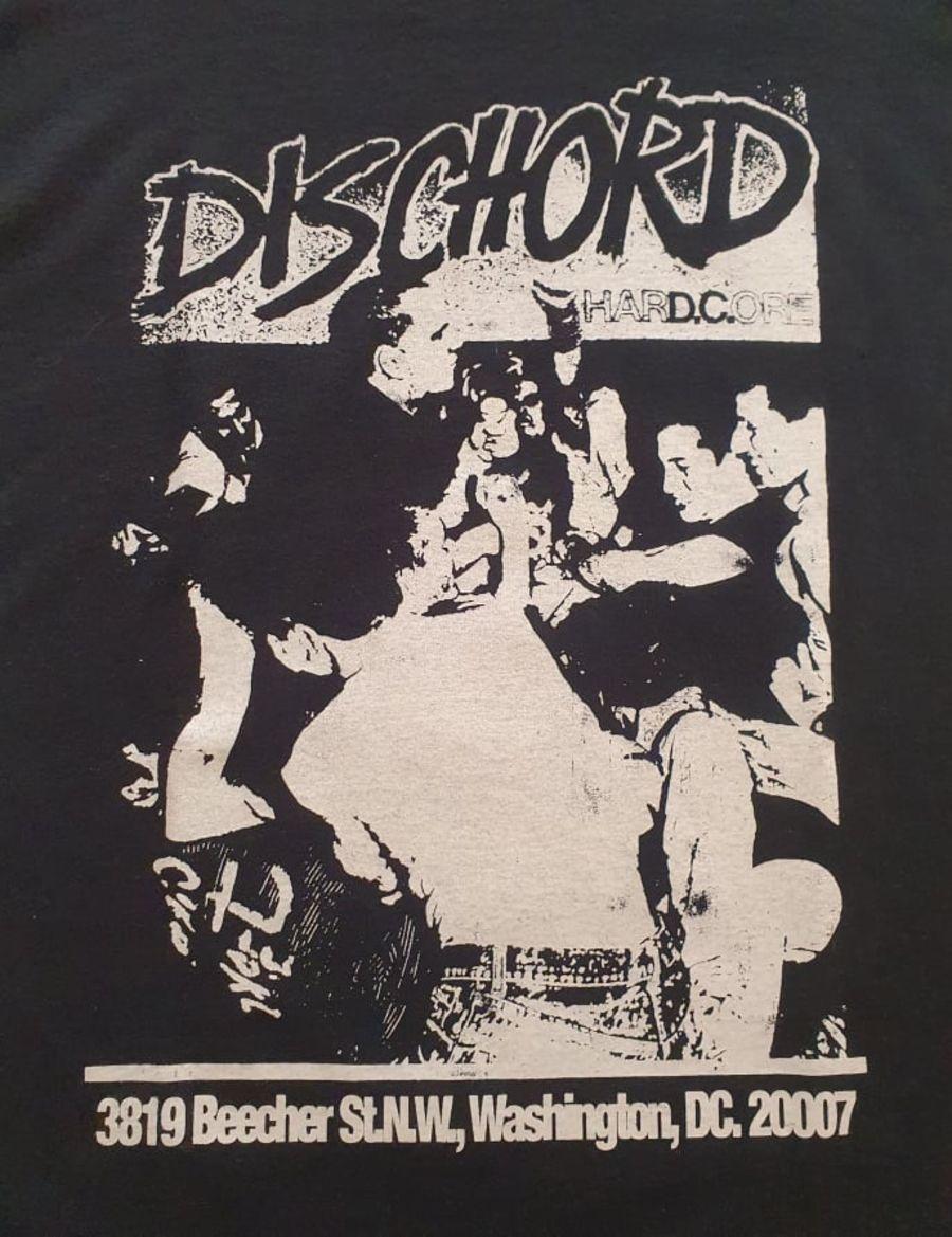 Vintage Dischord Records Black T-Shirt