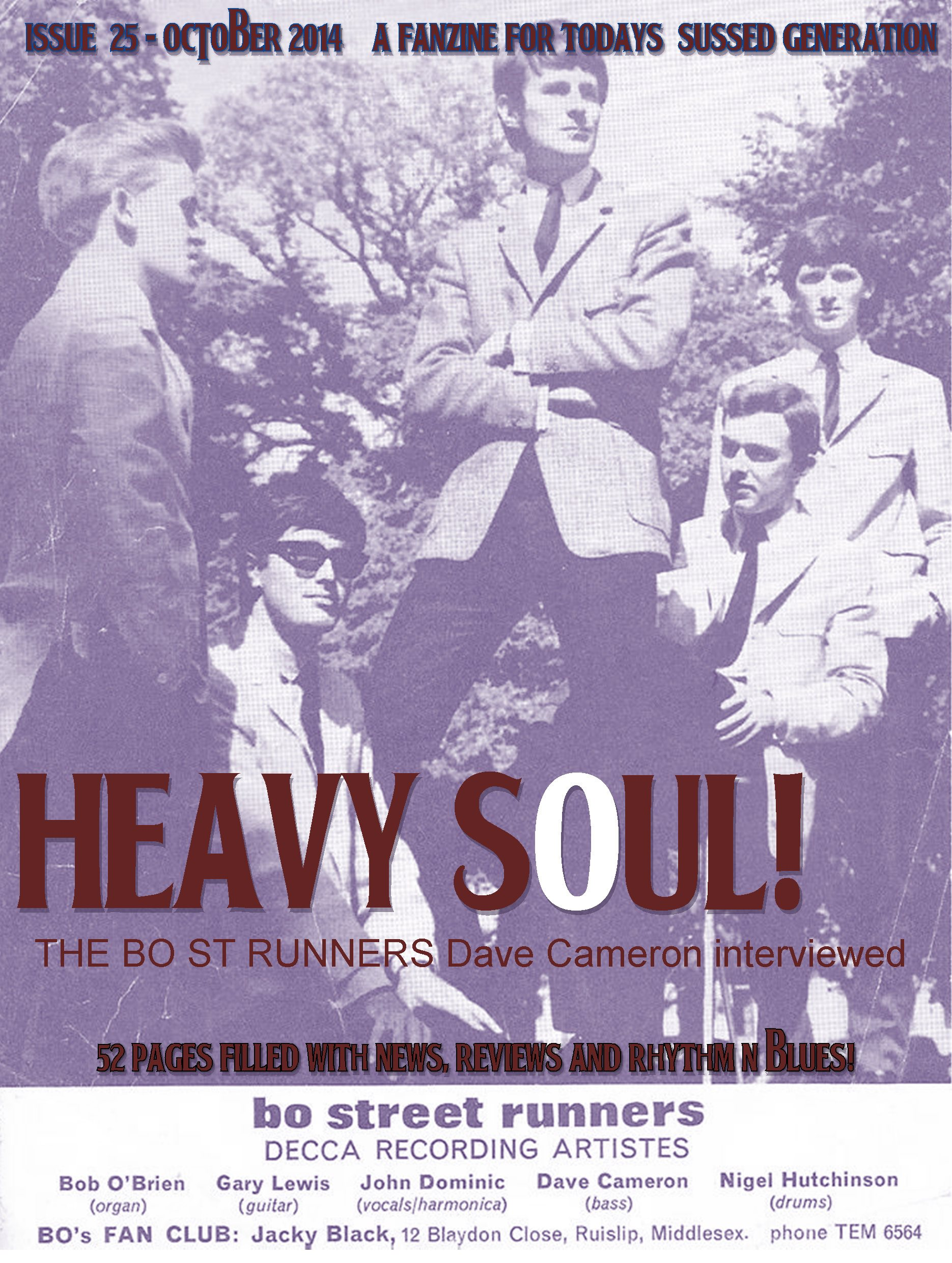 HEAVY SOUL! MODZINE Issue 25