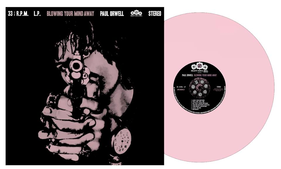 Blowing Your Mind Away PINK vinyl