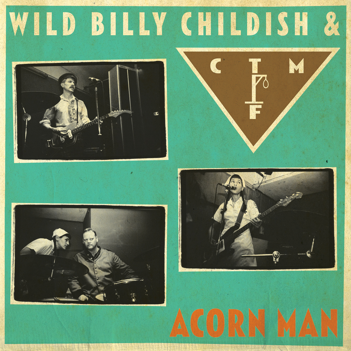 WILD BILLY CHILDISH & CTMF Acorn Man LP