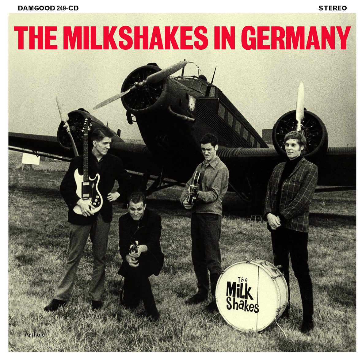 THE MILKSHAKES In Germany LP
