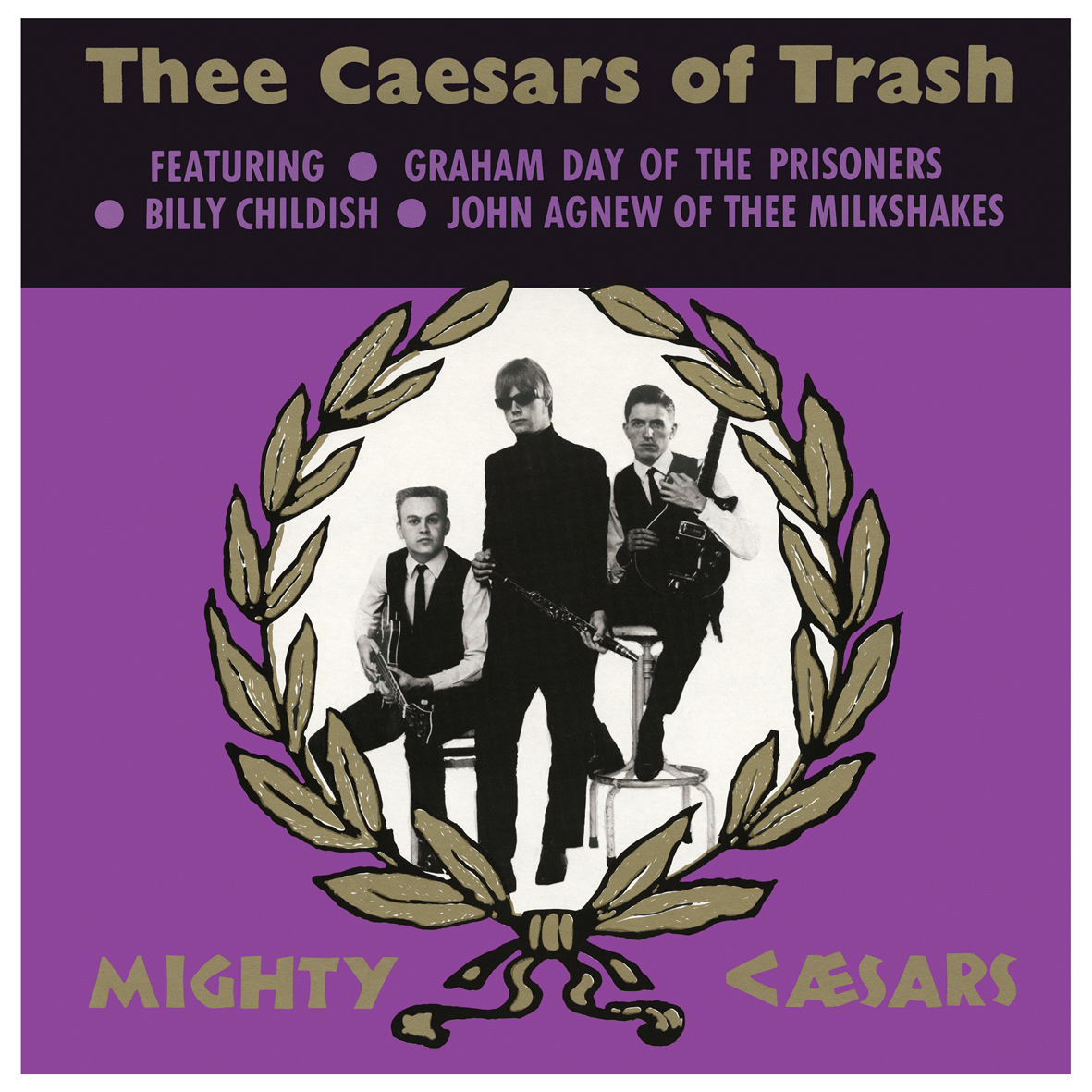 THEE MIGHTY CAESERS Casers Of Trash LP