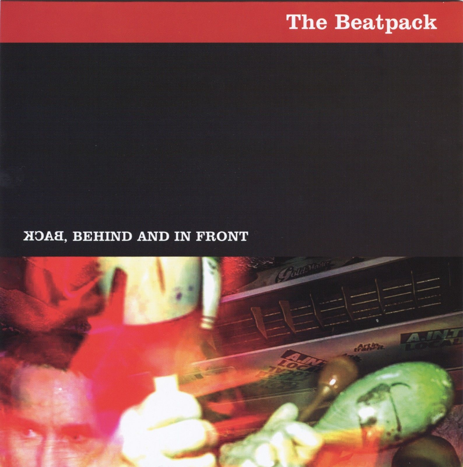 THE BEATPACK Back, Behind And In Front E.P.
