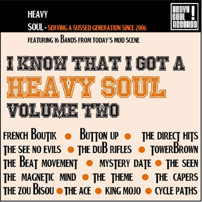 I KNOW THAT I GOT A HEAVY SOUL vol. 2 CD