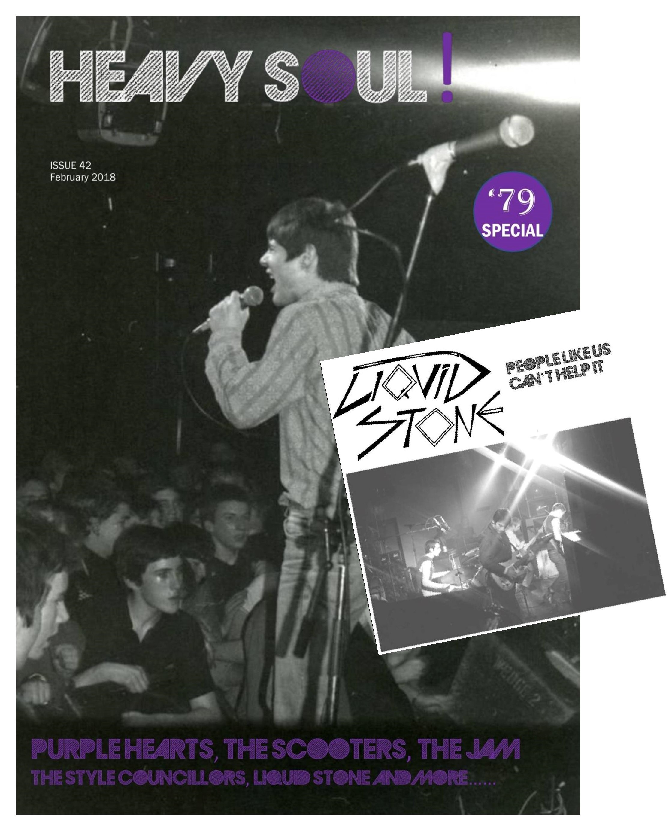 HEAVY SOUL MODZINE Issue 41 + LIQUID STONE 7
