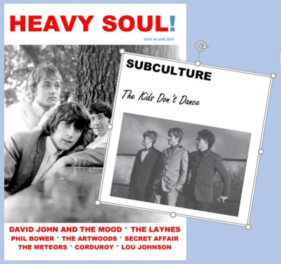 HEAVY SOUL MODZINE Issue 46 + SUBCULTURE single