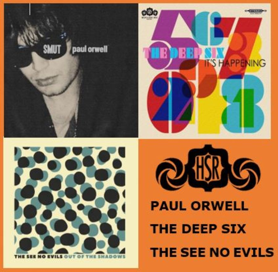 PAUL ORWELL / THE DEEP SIX / SEE NO EVILS Bundle