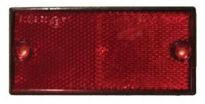 Self Adhesive Red Reflector