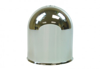 Maypole Chrome Coloured Towball Cover