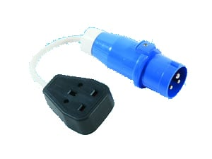 Caravan Plug to 13 Amp Socket