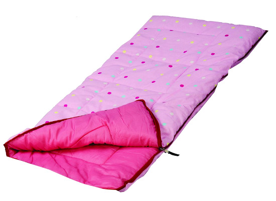 Sunncamp Junior Pink Dotty Sleeping Bag