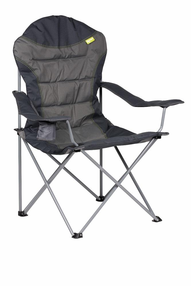 Kampa XL High Back Chair - Charcoal