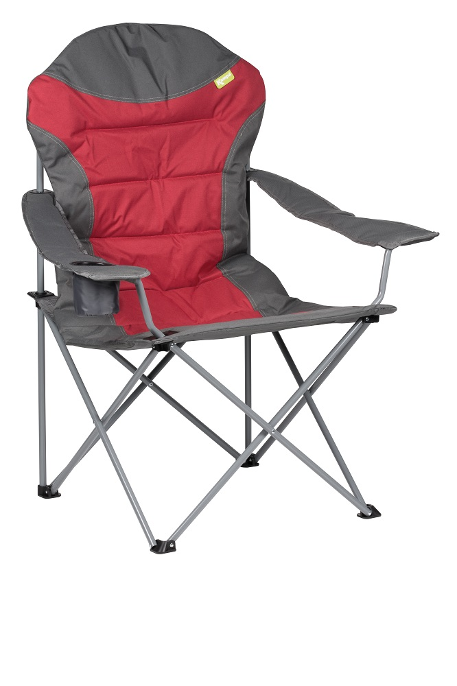 Kampa XL High Back Chair - Red