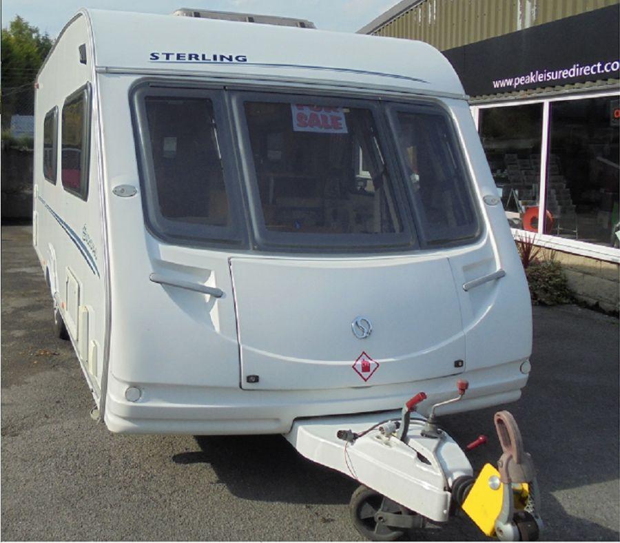 Sterling Europa 520 Caravan - 4 Berth - 2008