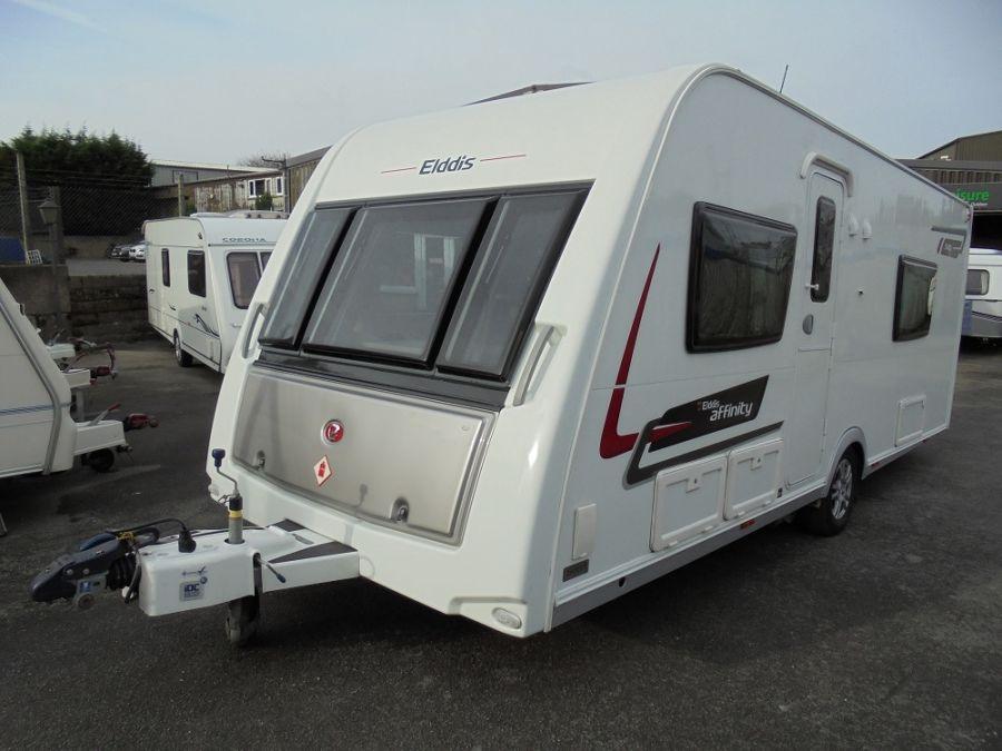 Elddis Affinity 540 4 Berth Caravan  - 2013